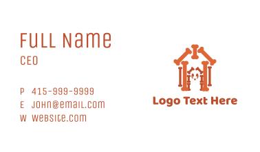 Bone House Business Card