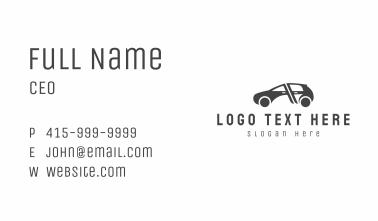 Automobile Car Repair  Business Card