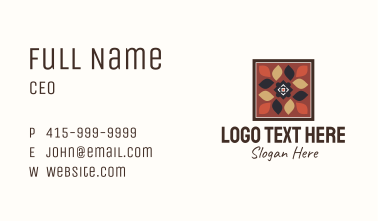 Textile Design Art  Business Card