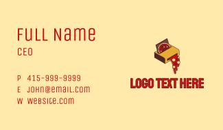 Pizza Printer Business Card