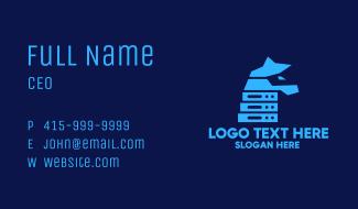 Horse Technology Server Business Card