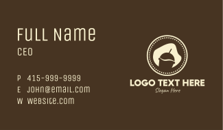 Coffee Smoothie Drink Business Card