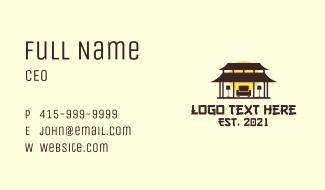 Asian Home Furnishing Business Card