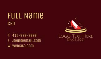 Fashion Shoes Platform  Business Card