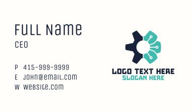 Cyber Cog Tech Logistics Business Card