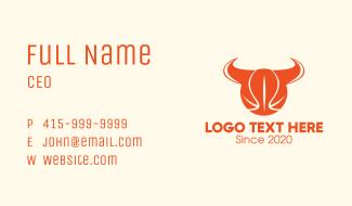 Basketball Horns Business Card