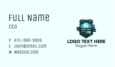 Adventure Night Backpack Business Card