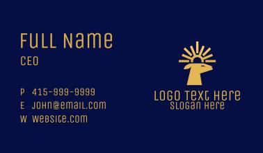 Solar Deer Business Card