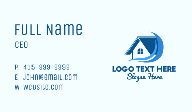 Home Realtor Waves  Business Card