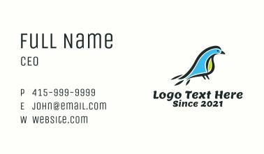 Tropical Bird Animal Business Card