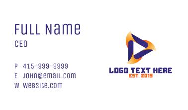 Orange Violet Media Business Card