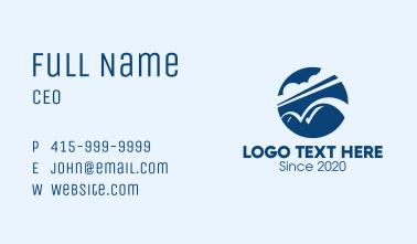 Blue Sky Bridge Business Card