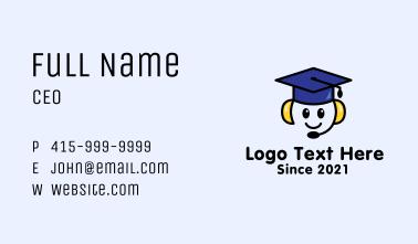 Online Masterclass Tutor  Business Card