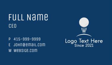 Golf Gentleman Sports  Business Card