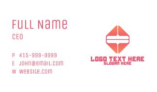 Generic Tech Business Business Card