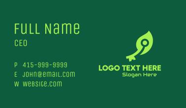 Green Leaf Tech Key Business Card
