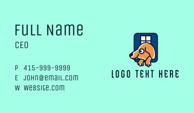 Dog Shelter Kennel Business Card