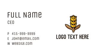 King Grain Business Card