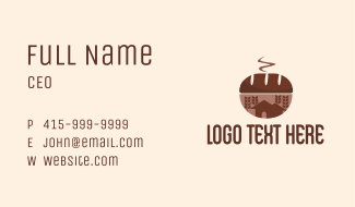 Wheat Bread House  Business Card