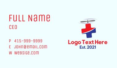 Flying Medical Doctor Ambulance Business Card