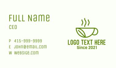 Leaf Herb Drink Business Card