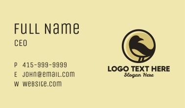 Brown Sparrow Bird  Business Card