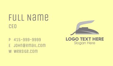 Grey Flat Iron Business Card