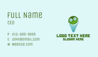Smile Location Business Card
