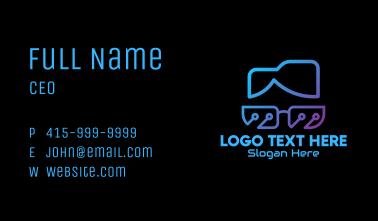 Tech Geek Nerd Business Card