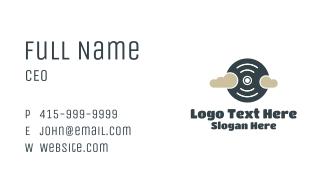 Disc Cloud Business Card