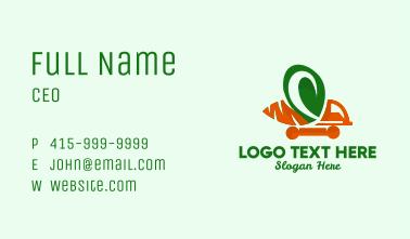 Carrot Truck  Business Card
