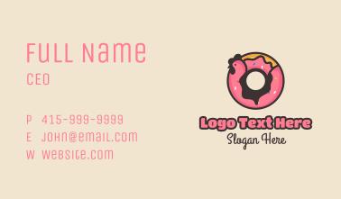 Chicken Donut Business Card