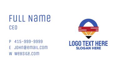 Pencil Locator App Business Card