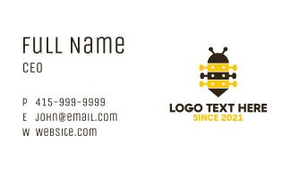 Guitar Bee Business Card