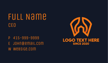 Wrench Spanner House Business Card