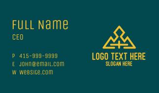 Gold Cross Mountain Business Card