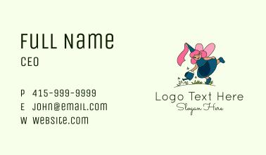 Gardener Fairy Business Card