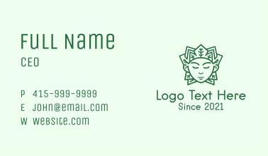 Green Leaf Prince Business Card