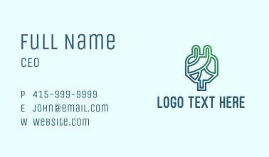 Eco Friendly Plug  Business Card