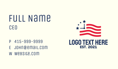American Time Business Card