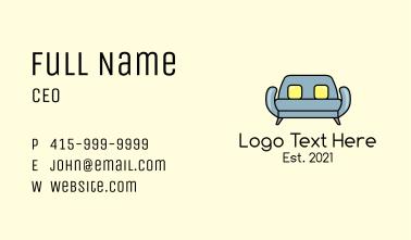 Modern Sofa Furniture Business Card