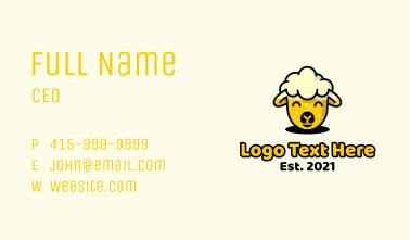 Sheep Beer Business Card