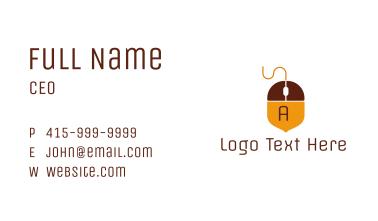 Acorn Mouse  Business Card