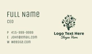 Fruit Tree Garden Business Card