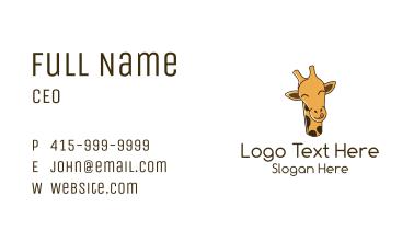 Happy Giraffe Business Card