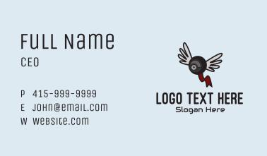 Online Webcam Wings Business Card