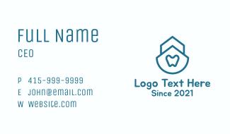 Simple Dental Clinic Business Card