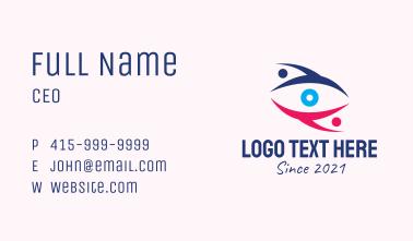 Eye Charity Foundation  Business Card