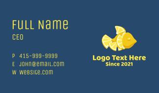Lemon Fish Business Card