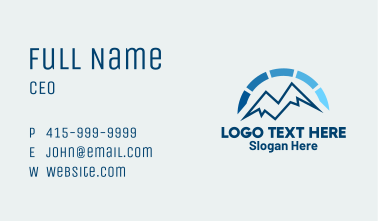 Mountain Energy Meter Business Card